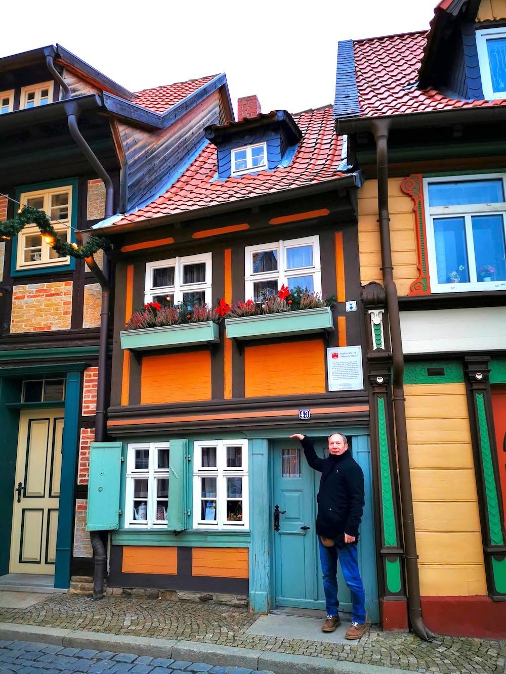 Kleinestes Haus in Wernigerode