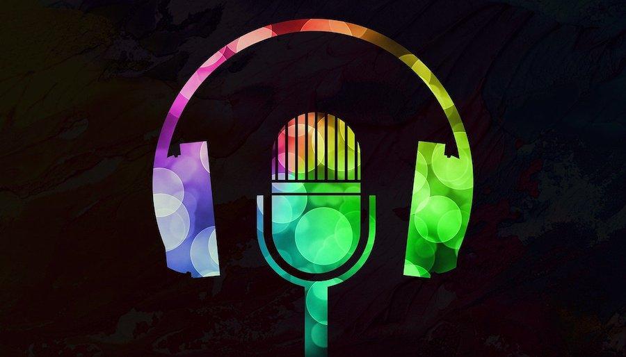 Gay-Podcasts, die schwule Männer hören