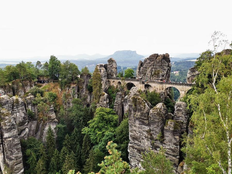 Elbsandsteingebirge: Ausflug zur Bastei Sächsische Schweiz