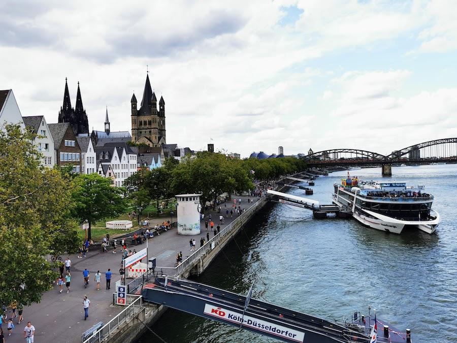 Startpunkt unserer Rheinromantik-Tour: Köln