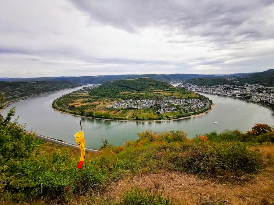 Route der Rheinromantik: Aussichtspunkt Vierseenblick bei Boppard