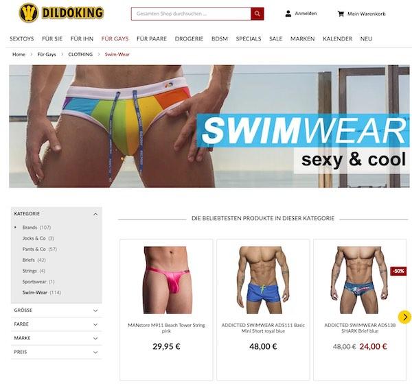 Große Auswahl: Sexy & cool Swimwear für Gays!
