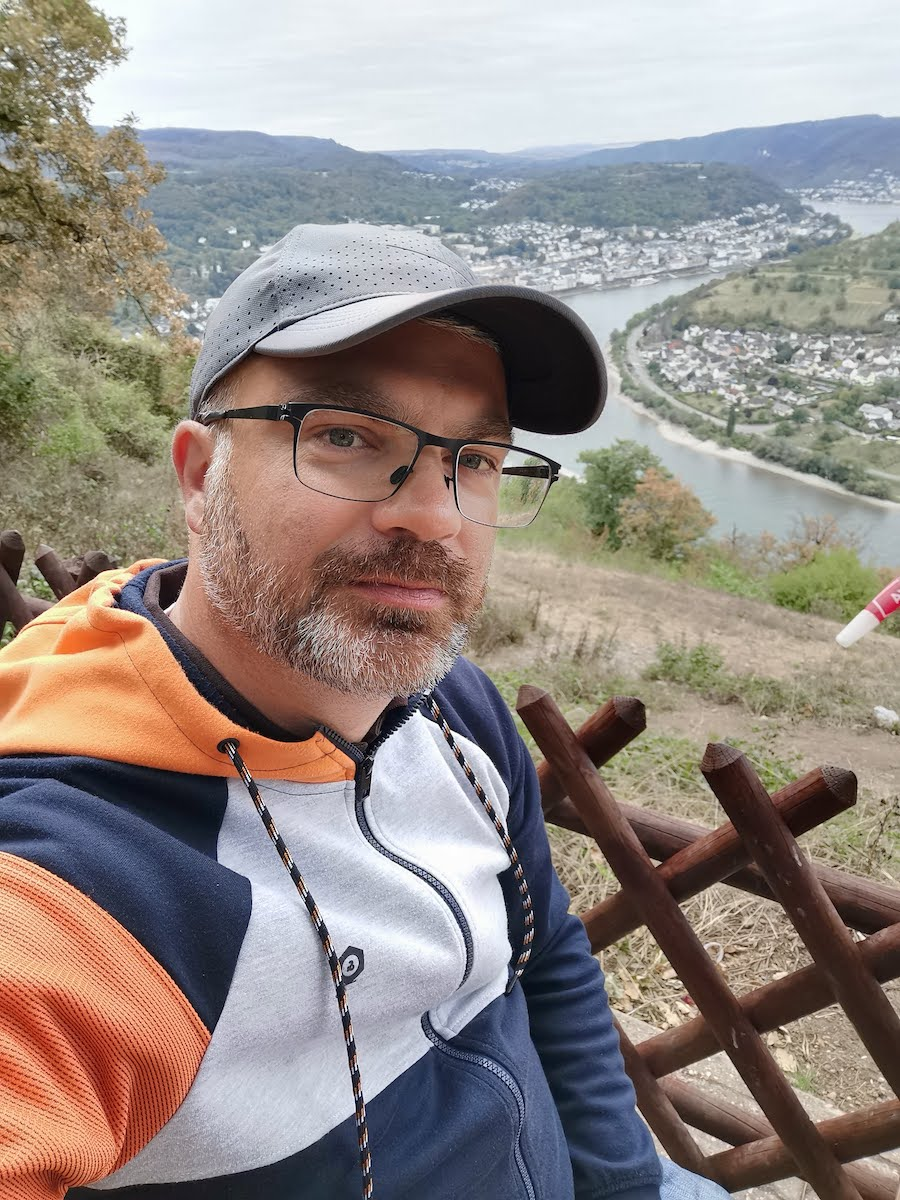 Vierseenblick: Bester Ausblick auf die Rheinschleife bei Boppard