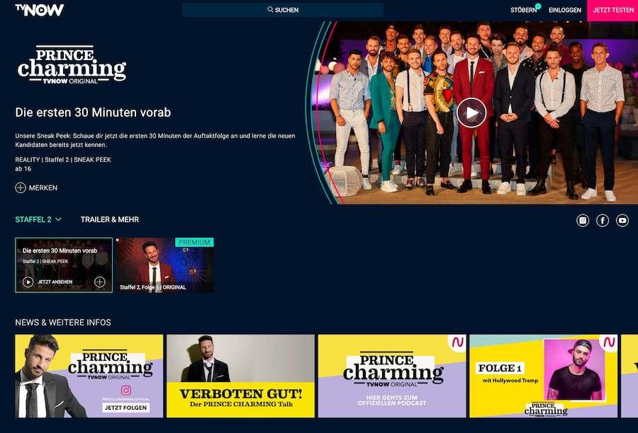 Prince Charming Staffel 2: Schwule Clichés (Screenshot: TVNOW)