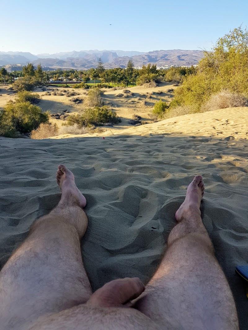 Nacktwanderung auf Gran Canaria